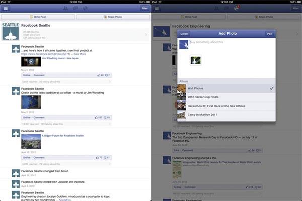 App administrador de paginas facebook ios La app de Administrador de Páginas de Facebook para iOS se actualiza y es compatible con el iPad
