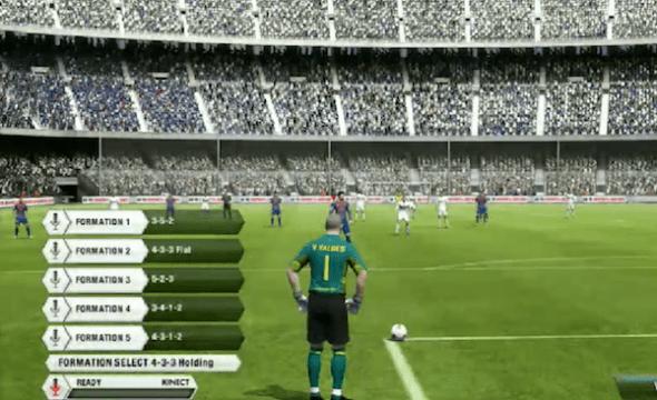Fifa 13 kinect controles 590x360 Nuevo tráiler de FIFA 13 nos muestra los controles con Kinect