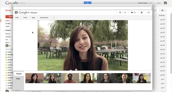 Google remplaza las video llamadas en Gmail por los Hangouts de Google+ - Gmail-hangouts