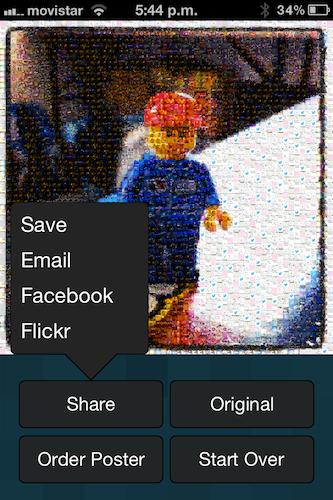 Photo Mosaica, realiza divertidos mosaicos de tus fotografías utilizando en tu iPhone - IMG_2550