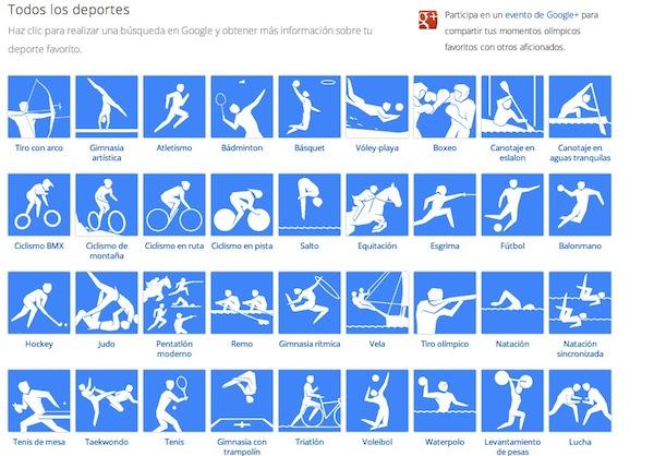 Juegos Olimpicos londres 2012 en directo google 3 Sigue en directo los Juegos Olímpicos Londres 2012 desde Google