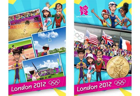 Londres 2012 juego Juego oficial de los Juegos Olímpicos de Londres 2012 disponible para descargar