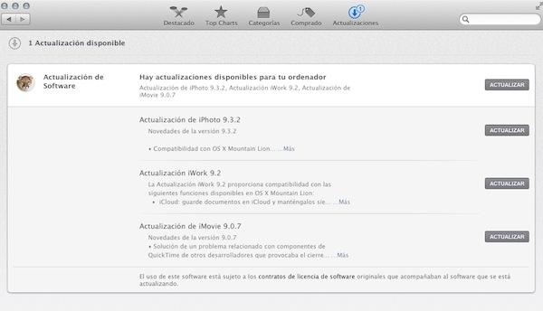 Mac app store actualizacion OS X 10.8 Mountain Lion, uno de los mejores sistemas operativos de Apple [Reseña]