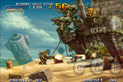 Metal Slug 3 para iOS y Android es presentado por SNK Playmore - Metal-slug-3-movil