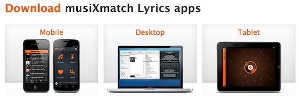 MusiXmatch, una genial aplicación para saber las letras nuestras canciones - Musixmatch-apps