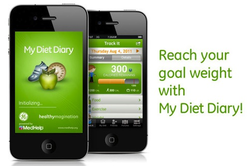 My Diet Diary, una app para controlar la dieta