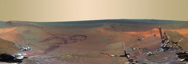 La NASA publica impresionante foto del Invierno en Marte - NASA-foto-marte