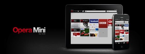 Opera Mini ios Opera Mini para iOS se actualiza y añade la integración con Twitter