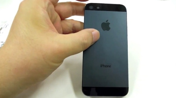 Posible iPhone 5 Video del posible nuevo iPhone 5 de Apple