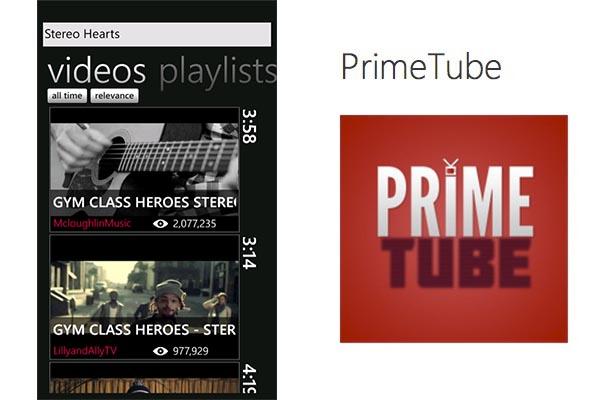 PrimeTube, un excelente cliente de Youtube para Windows Phone - PrimeTube-Windows-Phone