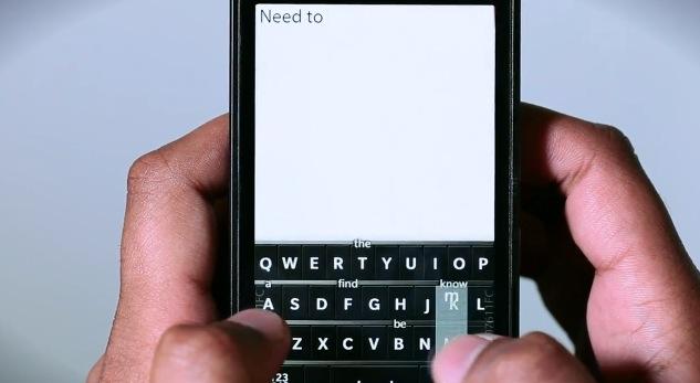 RIM teclado texto predictivo bb 10 RIM adquiere una patente de texto predictivo para su esperado BlackBerry 10