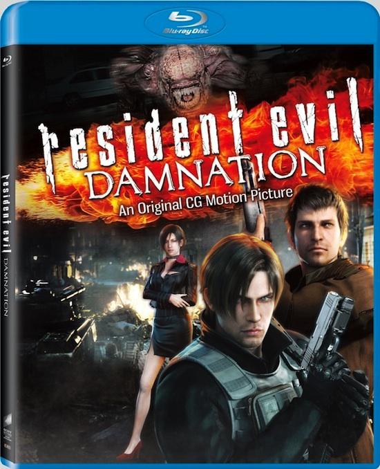 Resident evil damnation blueray dvd Resident Evil: Damnation saldrá a la venta el 25 de septiembre