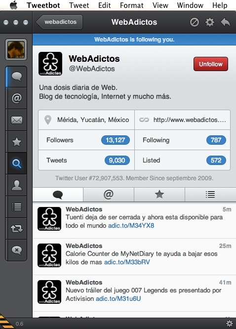 Tweetbot mac webadictos Tweetbot para Mac disponible en versión alpha