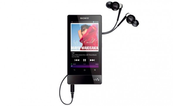 WalkmanF800 590x363 Sony presenta sus nuevos Walkman 2012 con Ice Cream Sandwich
