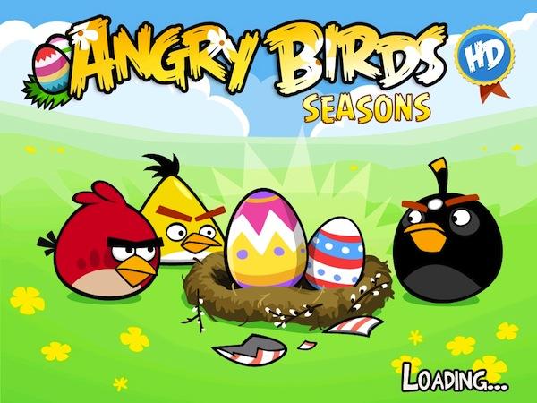 Angry Birds Seasons HD gratis por tiempo limitado