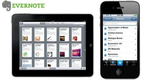 evernote ios cabecera 590x332 3 grandes Apps para tomar notas desde tu iPhone o Android