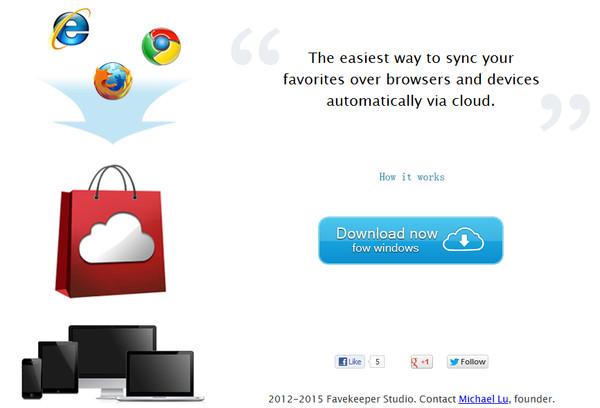 favkeeper Sincroniza tus favoritos entre navegadores con Favkeeper