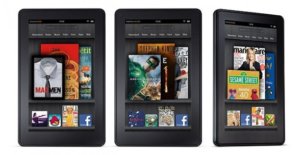 kindle fire 590x304 Amazon podría lanzar de 5 a 6 nuevas tabletas incluyendo una de 10 pulgadas