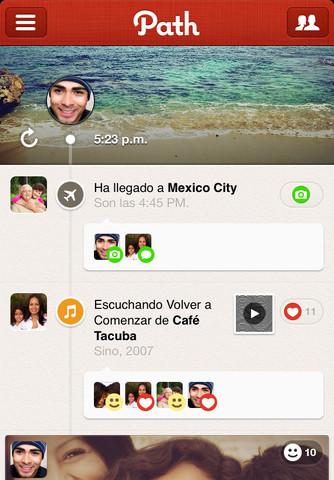 mza 4485246801065980230.320x480 75 Path, tu red social privada, se actualiza a su versión 2.5 incluyendo mejoras importantes
