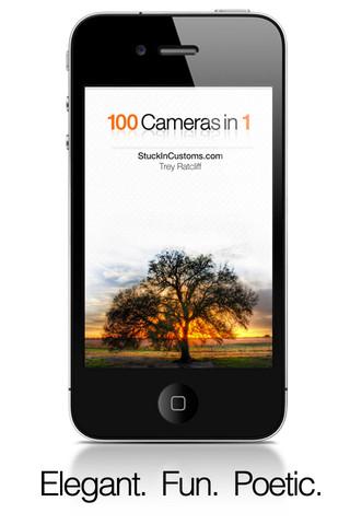 100 Cameras in 1, usa cientos de efectos en tus fotos desde tu iPhone