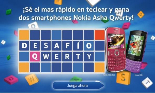 Desafio Qwerty, gana dos Nokia Asha Qwerty - nokia-tipeo-590x356
