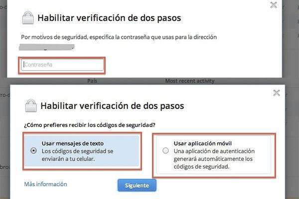 Cómo activar la verificación de dos pasos en Dropbox - Activar-verificacion-dos-pasos-dropbox-4