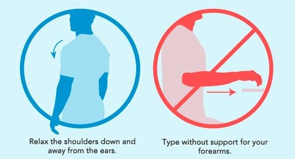 La importancia de la buena postura en el trabajo [Infografía] - Buena-postura