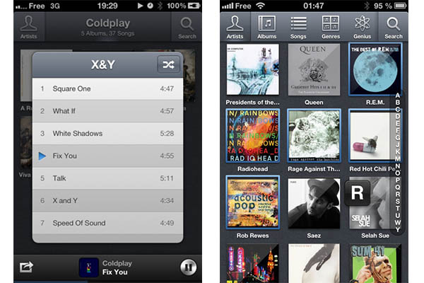 Ecoute, uno de los mejores reproductores alternativos en Mac llega a iOS - Ecoute-iphone
