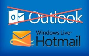 Cómo regresar a Hotmail desde Outlook