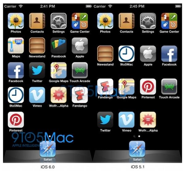 iOS 6 tiene una resolución escalable a 640x1136, sugiere una pantalla más grande para el iPhone 5 - Resolucion-ios-6