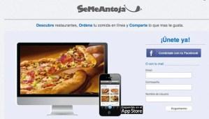SeMeAntoja, una red social para pedir comida por Internet
