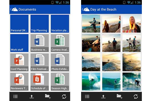 Microsoft lanza Skydrive para Android - SkyDrive-Android-app