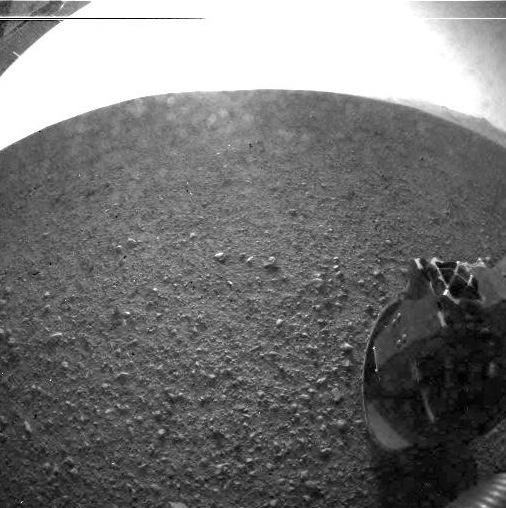 Revive el aterrizaje del Curiosity Rover en Marte - Superficie-marte