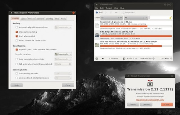 Transmission, un excelente cliente para torrents en Mac y Linux - Transmission-Torrent-590x379