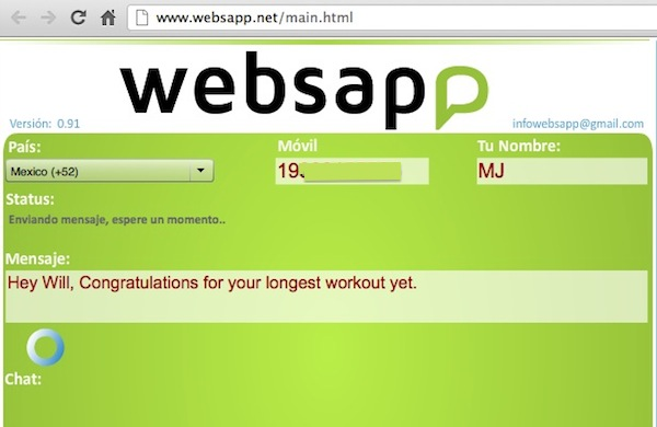 WebSapp Usar Whatsapp desde la web con WebSapp