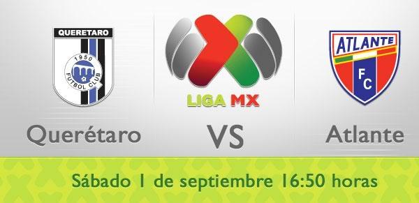 Queretaro vs Atlante en vivo, Futbol Mexicano 2012 - atlante-queretaro-liga-mx