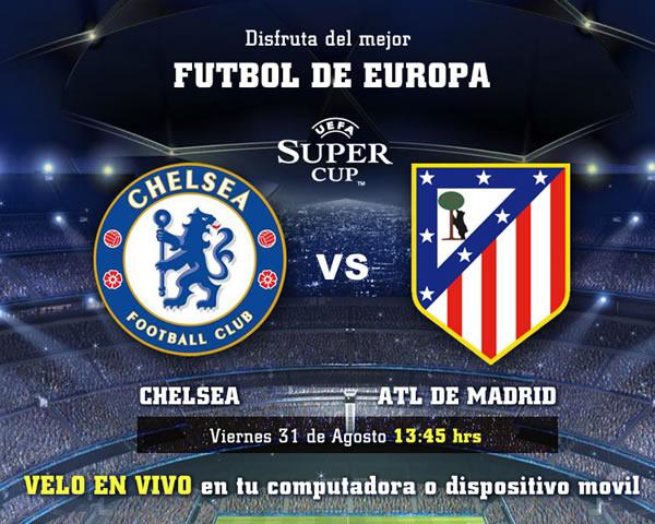 Chelsea vs Atlético de Madrid en vivo (Supercopa UEFA 2012) - chelsea-supercopa-en-vivo