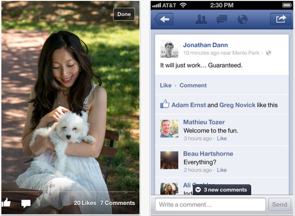 Facebook rehace su aplicación para iOS y le queda mucho mejor que antes - facebook-ios-5