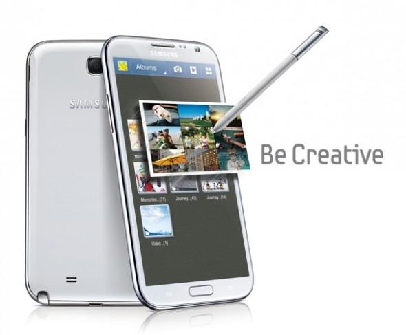 Samsung presenta su nueva Galaxy Note 2 con pantalla aun mas grande - galaxy-note-2-590x487