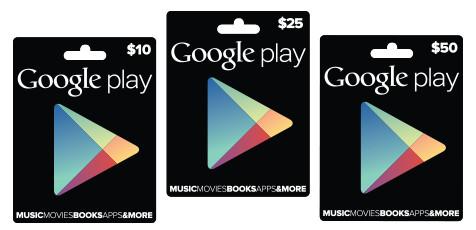 google play tarjetas Google confirma las tarjetas de prepago para Google Play