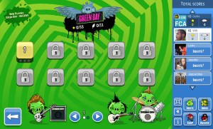 Angry Birds presenta un episodio con Green Day