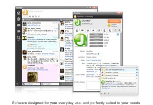 Janetter, excelente cliente multiplataforma para Twitter