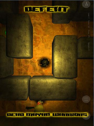 Juego de aventuras maya para iPhone, Escape From Xibalbá - juego-maya-movil