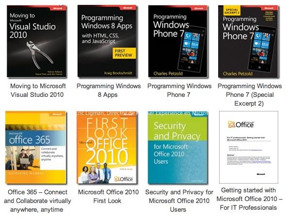 libros microsoft pdf Libros de Microsoft gratis