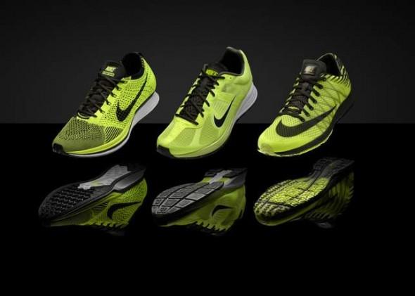 Nike nos presenta Volt Collection con tecnología para los mejores atletas del mundo - nike-flyknit-racer-590x421