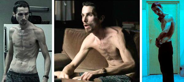La transformación de Christian Bale a través de los años - the-machinist