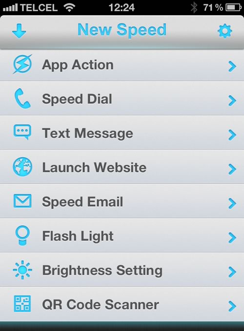 widgets iphone 2 Agregar accesos directos en el centro de notificaciones del iPhone sin Jailbreak con Speed U