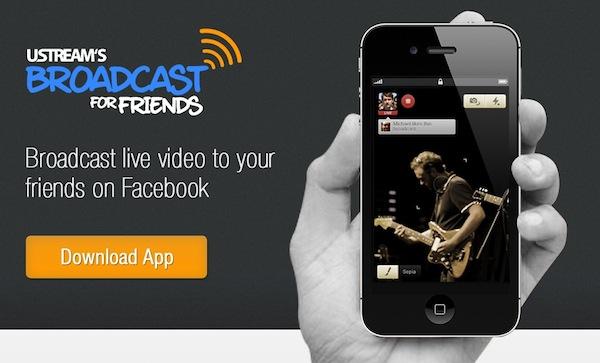 Haz transmisiones en vivo con tus amigos de Facebook con Broadcast for Friends - Broadcast-for-friend-app