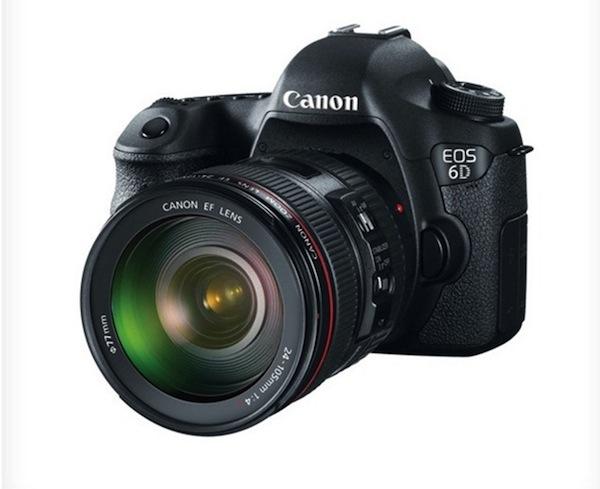 Cámara Canon EOS 6D Full Frame es presentada - Canon-EOS-6D