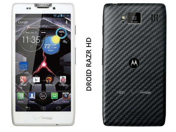 Motorola presentó sus nuevos equipos Razr M, Razr Maxx y Razr HD - DROID-RAZR-HD